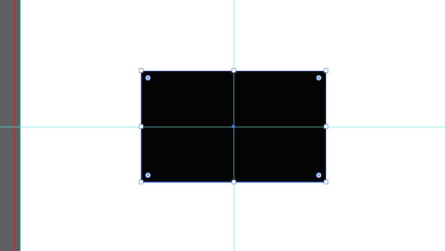 横91縦55の長方形を作成